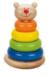 Lavinamasis žaislas Bokštas, 6 dalys