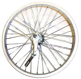 """Rear Wheel 20"""" 36H Silver"""