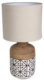 Verners Misa Desk Lamp 60W E27 Wood/White