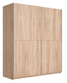 Black Red White F27 Wardrobe 170 Sonoma Oak