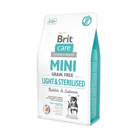 Kuivtoit koertele Brit Care Mini Light & Sterilised, 2 kg