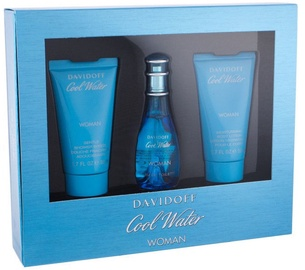 Davidoff Cool Water 30ml EDT + 50ml Shower Gel + 50ml Body Lotion