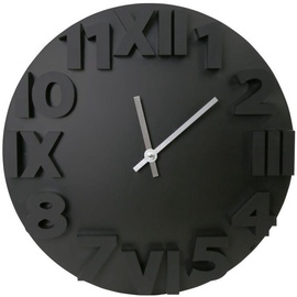 Platinet Modern Wall Clock 42985 Black