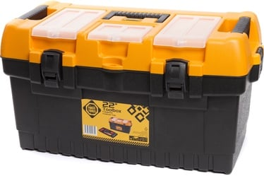 Forte Tools PT-22 Toolbox 564x310x310mm Black/​Yellow