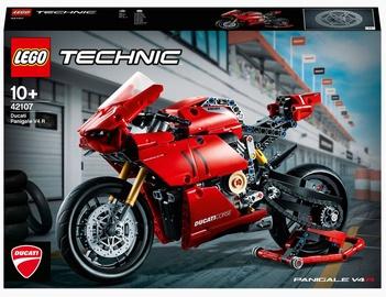 Конструктор LEGO Technic Ducati Panigale V4 R 42107, 646 шт.