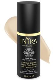 Inika Certified Organic Liquid Foundation with Hyaluronic Acid 30ml Nude