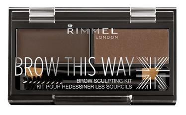 Rimmel London Brow This Way Brow Sculpting Kit 3.3g 03