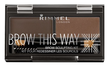 Rimmel London Brow This Way Brow Sculpting Kit 3.3g 03