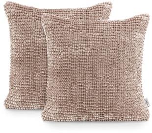 AmeliaHome Bati Pillowcase 45x45 Powder Pink 2pcs