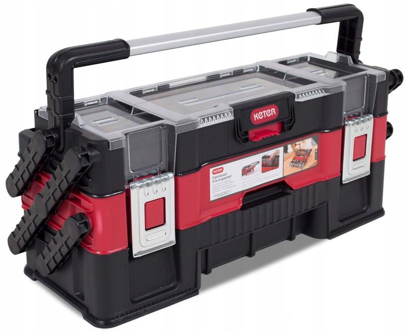 Коробка Keter 237788, черный/красный