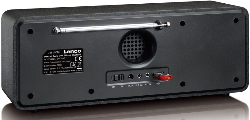 Lenco DIR-150 Black