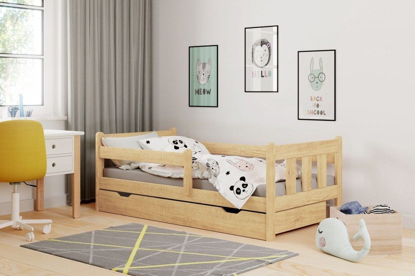 Bērnu gulta Halmar Marinella Pine, 164x88 cm