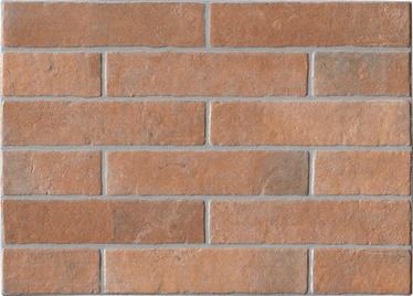 Keraminės sienų plytelės Mattone Rosso, 48 x 34 cm