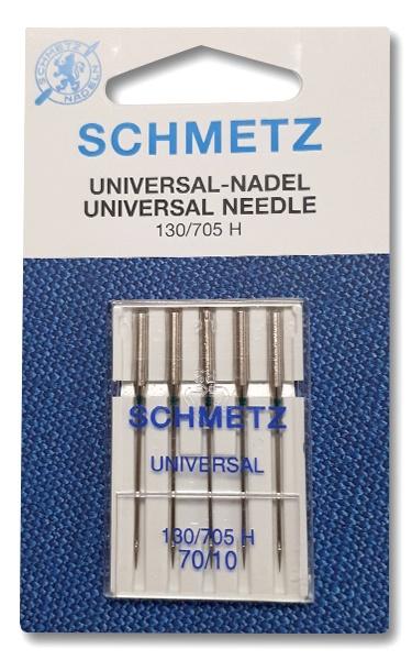 Siuvimo mašinų adatos Schmetz 130/705 H nr.70, 5 vnt
