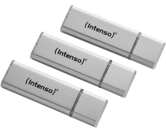 USB atmintinė Intenso Alu Line, USB 2.0, 32 GB