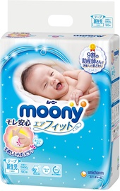 Moony Diapers Airfit NB 90