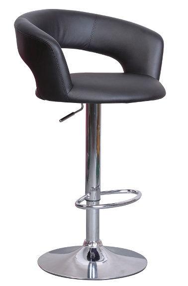Baro kėdė Signal Meble Cocket Black, 1 vnt.