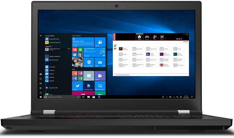 Lenovo ThinkPad P15 Gen1 Black 20ST001VMH