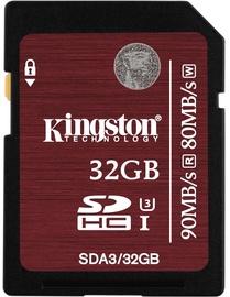 Kingston 32GB SDHC UHS-I U3 Class 3
