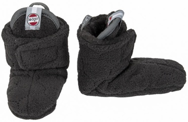 Lodger Fleece Booties BotAnimal Raven 3-6m