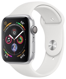 Apple Watch Series 4 44mm Aluminum Silver/White Band