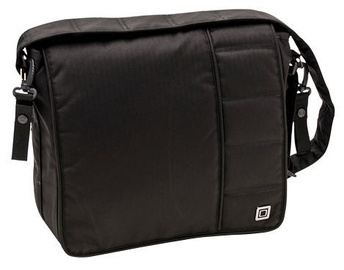 Moon City Line Diaper Bag Black