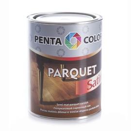 Parketa laka Pentacolor Parquet, 0.9l, pusmatēta