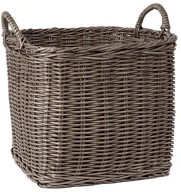 Home4you Basket Ruby-2 42x42x34cm Brown