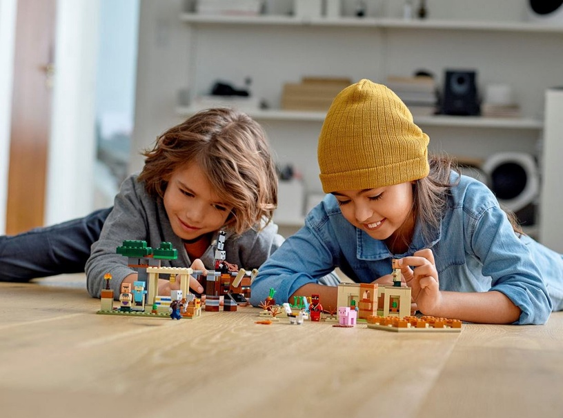 Konstruktorius LEGO Minecraft The Illager Raid 21160