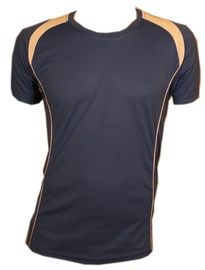 Bars Mens Football Shirt Blue 189 L