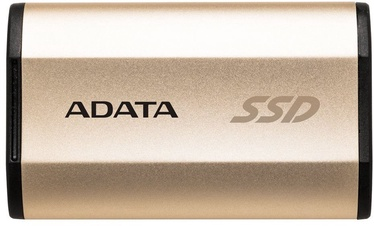 Adata SE730H 256GB External Solid State Drive Gold
