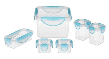 Tuckano Set Of Food Containers 6pcs