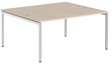 Skyland Xten-S Office Desk XWST 1614 Tiara Beech/Aluminium