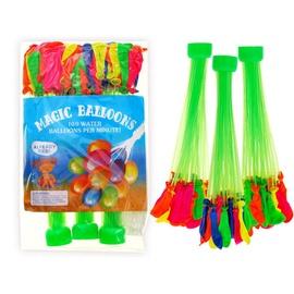 Magic Watter Balloons 100pcs Multi Color