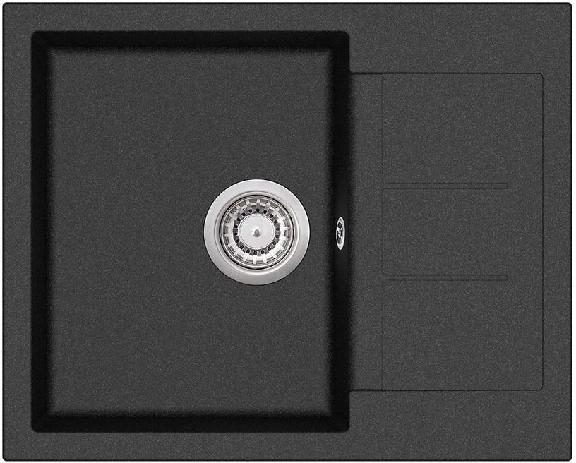 Aquasanita Tesa SQT102-601W Black 620x500mm