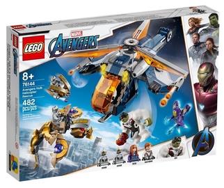 Konstruktorius LEGO®Super Heroes 76144 Halko išsigelbėjimas Keršytojų sraigtasparniu