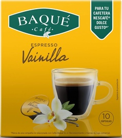 Cafe Baque Vanilla kavos kapsulės, 10 vnt.