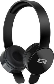Qoltec 50817 Bluetooth On-Ear Headphones Black