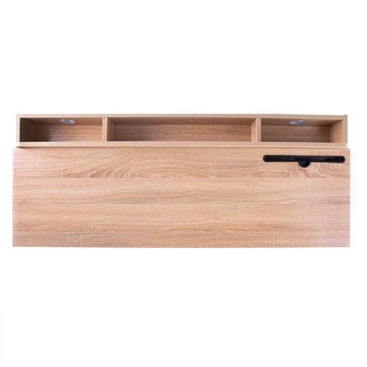 Homede Odel Desk Oak/White