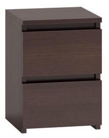 Naktinis staliukas Top E Shop M2 Malwa, rudas, 40x30x40 cm