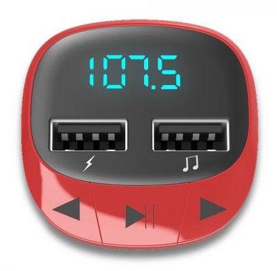 Energy Sistem FM Car Transmitter Red