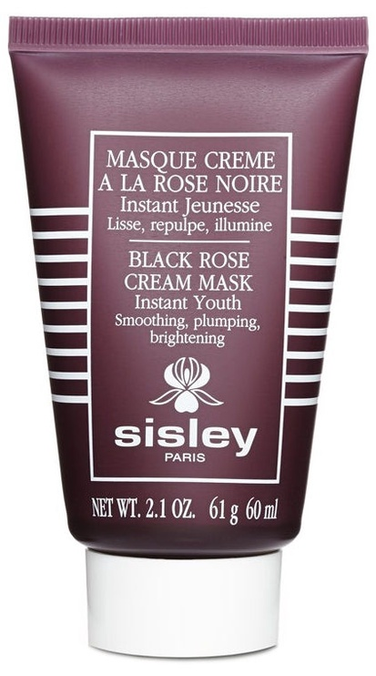 Veido kaukė Sisley Black Rose Cream Mask, 60 ml