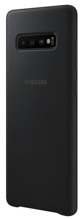 Samsung Silicone Back Case For Samsung Galaxy S10 Plus Black
