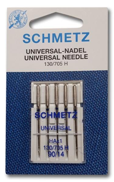 Siuvimo mašinų adatos Schmetz 130/705 H nr.90 , 5 vnt