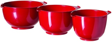 Curver Mixing Bowl Set 3PCS Red