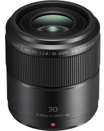 Panasonic Lumix G Macro 30mm F2.8 ASPH. Mega O.I.S. Lens Black