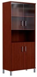 Skyland Born Office Bookshelf B 430.10 90х45х205.4cm Burgundy