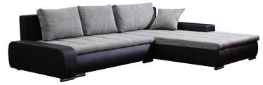 Platan Corner Sofa Tivano Black/Gray