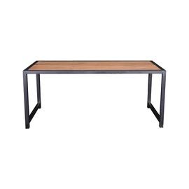 Dārza galds DG-001 148x76cm brūns