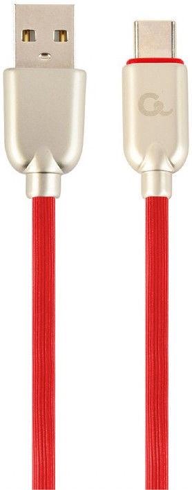 Gembird USB To USB Type - C Premium Rubber Red 2m